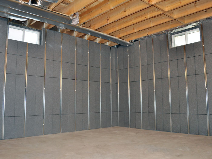 You Ll Love This Innovative Way To Insulate And Finish Your Basement Walls Beautiful Wall Paneling System