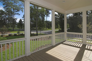 Screened-in porch design