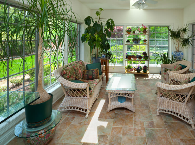 Sunroom additions by maryland remodelers contractors for How to wire a new room addition